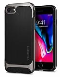 Spigen Neo Hybrid Herringbone iPhone 7 / 8 Gun Metal Kılıf