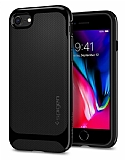 Spigen Neo Hybrid Herringbone iPhone 7 / 8 Shiny Black Kılıf