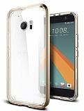 Spigen Neo Hybrid Crystal HTC 10 Gold Kılıf
