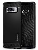 Spigen Rugged Armor Samsung Galaxy Note 8 Siyah Silikon Kılıf
