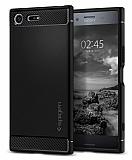 Spigen Rugged Armor Sony Xperia XZ Premium Siyah Kılıf