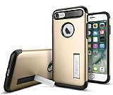 Spigen Slim Armor iPhone 7 Gold Kılıf