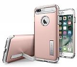 Spigen Slim Armor iPhone 7 Plus Rose Gold Kılıf