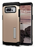 Spigen Slim Armor Samsung Galaxy Note 8 Gold Ultra Koruma Kılıf