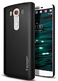 Spigen Thin Fit LG V10 Siyah Rubber K�l�f