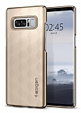 Spigen Thin Fit Samsung Galaxy Note 8 Gold Rubber Kılıf