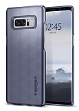 Spigen Thin Fit Samsung Galaxy Note 8 Orchid Gray Rubber Kılıf