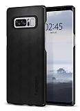 Spigen Thin Fit Samsung Galaxy Note 8 Mat Siyah Rubber Kılıf