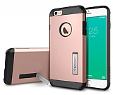 Spigen Tough Armor iPhone 6 Plus / 6S Plus Rose Gold Kılıf