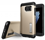 Spigen Tough Armor Samsung Galaxy Note FE Gold Kılıf