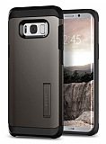 Spigen Tough Armor Samsung Galaxy S8 Plus Gunmetal Kılıf