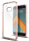 Spigen Ultra Hybrid Crystal HTC 10 Rose Gold K�l�f