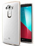 Spigen Ultra Hybrid LG G4 Gold Kılıf