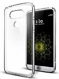 Spigen Ultra Hybrid LG G5 Şeffaf Rubber Kılıf