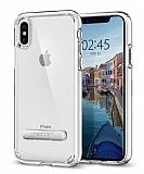 Spigen Ultra Hybrid S iPhone X Ultra Koruma Şeffaf Kılıf