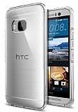 Spigen Ultra Hybrid HTC One M9 Şeffaf Rubber Kılıf