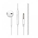 Spiral Kablolu Mikrofonlu Kulaklık