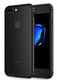 Sulada iPhone 7 Plus Metal Bumper Çerçeve Jet Black Kılıf