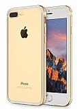 Sulada iPhone 7 Plus Metal Bumper Çerçeve Gold Kılıf