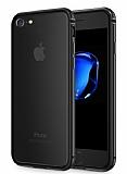 Sulada iPhone 7 Metal Bumper Çerçeve Jet Black Kılıf