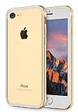 Sulada iPhone 7 Metal Bumper Çerçeve Gold Kılıf