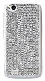 Swarovski Ta�l� General Mobile Discovery Silver Rubber K�l�f