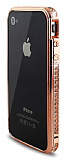 Swarovski Ta�l� iPhone 4 / 4S Copper Bumper �er�eve K�l�f