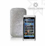 Beyaz Ta�l� Nokia N8 K�l�f