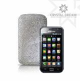 Swarovski Ta�l� Samsung Galaxy S Beyaz K�l�f