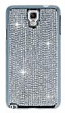 Ta�l� Samsung N7500 Galaxy Note 3 Neo Silver Rubber K�l�f