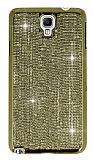 Ta�l� Samsung N7500 Galaxy Note 3 Neo Gold Rubber K�l�f