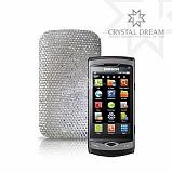 Beyaz Swarovski Ta�l� Samsung S8530 Wave 2 K�l�f