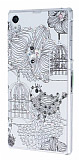 Swarovski Ta�l� Sony Xperia Z1 Ku� Rubber K�l�f
