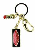 Taşlı Dudak 8 GB USB Kırmızı Bellek & Anahtarlık