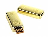 Külçe Altın 8 GB USB Bellek