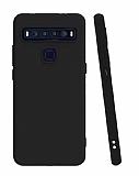 TCL 10L Siyah Mat Silikon Kılıf