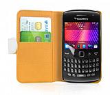 Nokia Asha 311 Beyaz Yan C�zdanl� K�l�f