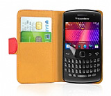 Nokia Asha 311 K�rm�z� Yan C�zdanl� K�l�f