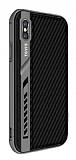 Dafoni Element Shield iPhone X Standlı Ultra Koruma Karbon Siyah Kılıf
