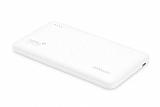 Totu Design 6000 mah Powerbank Dahili Micro USB Kablolu Beyaz Yedek Batarya