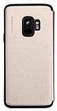 Totu Design Acme Series Samsung Galaxy S9 Kapaklı Gold Kılıf