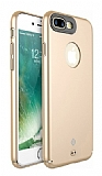 Totu Design Color Series iPhone 7 Plus / 8 Plus Gold Rubber Kılıf