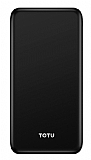 Totu Design CPBN-031 10000 mAh Powerbank Siyah Yedek Batarya