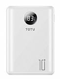 Totu Design CPDN-033 10000 mAh Powerbank Beyaz Yedek Batarya