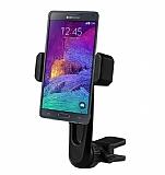 Totu Design CT04 Samsung Galaxy Note 4 Siyah Araç Havalandırma Tutucu