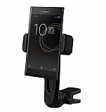 Totu Design CT04 Sony Xperia XZs Siyah Araç Havalandırma Tutucu