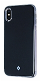 Totu Design Furios iPhone X 3ü 1 Arada Siyah Rubber Kılıf