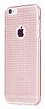 Totu Design Optic Texture iPhone 6 / 6S Rose Gold Silikon K�l�f
