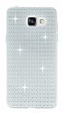 Totu Design Optic Texture Samsung Galaxy A5 2016 Şeffaf Silikon Kılıf