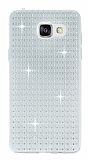 Totu Design Optic Texture Samsung Galaxy A7 2016 Şeffaf Silikon Kılıf